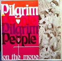 Pilgrim People - On The Move LP VG+ Private WI Midwest Xian Folk Rock