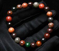 9mm Natural Colorful Phantom Ghost Garden Quartz Crystal Beads Bracelet AAAA