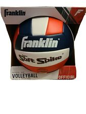 Franklin Sports Official Size Volleyball Beach & Backyard NEW Red White Blue