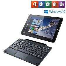 "Linx 1010 Windows 10 10.1"" Quad Core 32GB 2GB Tablet w/ Keyboard & Office Mobile"