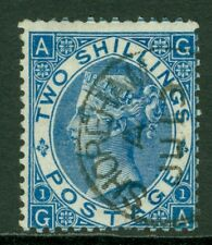 SG 119 2/- deep blue. Very fine used with a Shoreham CDS