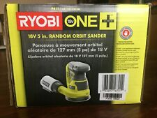 New Unused Ryobi 18-Volt Cordless 5 in. Random Orbit Sander (Tool-Only Open Box)
