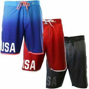"Hurley Men's Phantom USA Olympic Team 18.5"" Boardshorts"