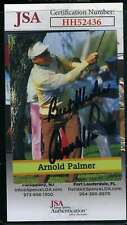 Arnold Palmer JSA Loa Autograph Hand Signed Golf Trading Card