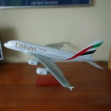 Huge 1/100 Airbus A380-800 Emirates Airlines Travel Agent Airplane Display Model