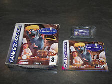 JEU GAME BOY ADVANCE GBA RATATOUILLE DISNEY PIXAR OCCASION