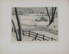 Samuel L. Margolies Silent Symphony Print 1946 Associated American Artists