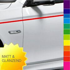 10m Zierstreifen Seitenstreifen Auto 2-15mm MATT & GLANZ Zierband Klebeband
