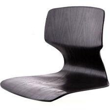 Black Floor Chair Tatami Japanese Zaisu Asian Legless Sitting Seat Reclining