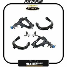 Envoy Trailblazer Upper,Lower Control Arm Kit New,Ball Joints $5 YEARS WARRANTY$