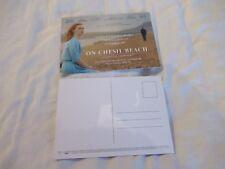 ON CHESIL BEACH FILM POSTCARDS X 2
