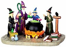 Lemax 44747 THE SORCERER'S APPRENTICE Spooky Town Lighted Table Accent Decor I