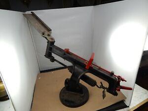 rare vintage Remington BLUE ROCK TRAP Clay Pigeon THROWER Restored & Working