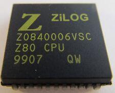 Z0840006VSC = Z80BCPU ZILOG NMOS CPU 6MHz (A16/6968)