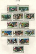 Mexico, Beautiful Conservation issues from 2002 in MNH Condition (CV ~ $62)