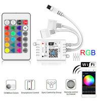 Mini WIFI WLAN LED RGB Controller DC5V~24V Stripe Streifen Band Leiste Steuerung