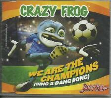 CRAZY FROG - We are the champions (Ding a dang dong) (2006) CD-single