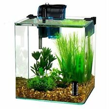 PENN-WW130-Penn Plax Vertex Aquarium Tank Kit for Fish and Shrimp, 2.7-Gallon