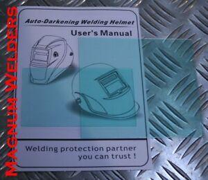 Magnum Welders Welding Helmet Regular & Maxi Lenses