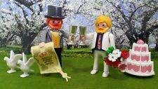 PLAYMOBIL ADULTE COUPLE PRIDE GATEAU MARIAGE POUR TOUS GAY HOMO LGBT RAINBOW