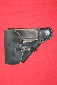 Good German black leather Walther PPK holster .