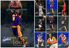 100++ FLEER BRILLIANTS 1998 NBA RC SINGLES ROOKIE BLUE LOT U PICK LIST WHOLESALE