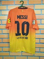 Messi Barcelona Jersey 2012 2013 Away SMALL Shirt Football Mens Nike 478326-815