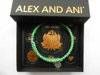 Alex and Ani Color Palette Sage Wrap Bracelet Rafaelian Silver NWTBC