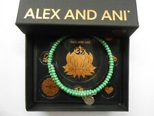 Alex and Ani Color Palette Sage Wrap Bracelet Rafaelian Silver NWTBC