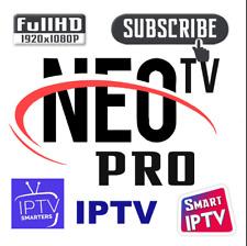 ⭐NEO TV PRO 2 TV VOD 12 MOIS sur Android, Mag25X, Smart TV, m3u - assistance