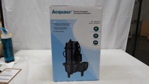 1/2 HP Durable Cast Iron Sewage Pump With 10 FT Power Cord
