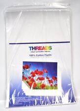 Cotton Poplin Inkjet Fabric 13in x 19in 100 Sheets