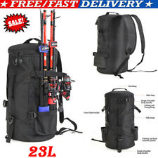 23L Large Capacity Fishing Tackle Backpack Outdoor Tool Carry Pouch Camping Bag