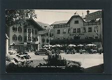 AK aus St,Johann in Tirol, Hauptplatz mit alten Autos, Oldtimer    (C3)