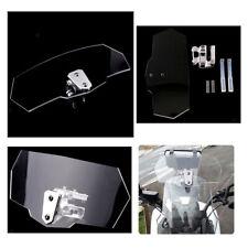 Deflettore Aria Regolabile Fisso Superiore Parabrezza Universale Moto
