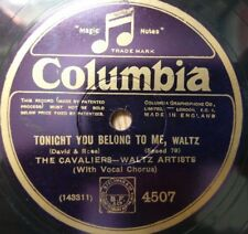 The Cavaliers - Tonight You Belong To Me / Paul Ash - What Does It Matter?  4507