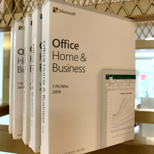 Microsoft Office Home and Business 2019 for Windows