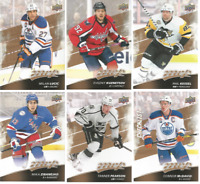 2017-18 Upper Deck MVP Hockey - Base Set Cards - Choose From Card #'s 1-200