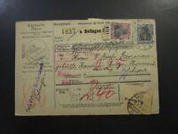 Germany 1920 Postal Receipt Registered From Frankfurt (I) - Z5871