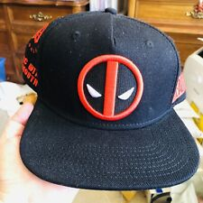 New Baseball Hat Deadpool Wilson 19 Chimi Changa Merc With A Mouth Disney Marvel