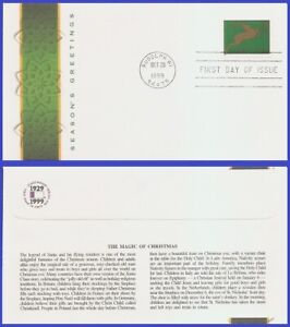 USA3 #3359 U/A FLEETWOOD FDC   Christmas Deer green