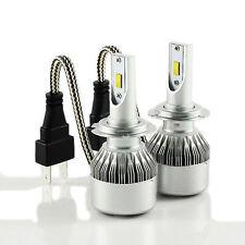 H7 LED HEADLIGHT Bulbs 72 W e contrassegnati Certified 6000k BIANCO Plug & Play senza errori