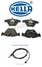 For BMW F06 640i GC F10 535d F12 640i xDrive Front Brake Pad Set w/ Sensor Hella