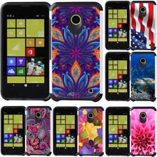 For Nokia Lumia 630 / Lumia 635 Case Slim Hybrid Armor Dual Layer Phone Cover