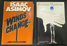 ASIMOV'S MYSTERIES - FIRST EDITION BY ISAAC ASIMOV & The Wind of Change