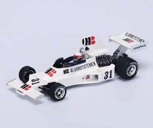 SPARK ENSIGN N175 #31 Practice British GP 1975 Roelof Wunderink S4812 1/43