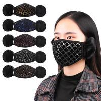 Outdoor Wear Cotton Plush Ear Protectors Warm Earmuffs Ear Cover Riding Mask
