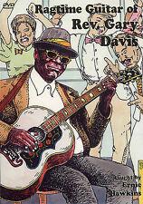 The Ragtime Guitar of Rev. Rev Gary Davis DVD Book NEW