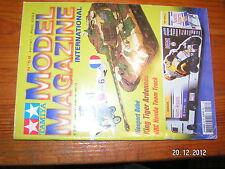 Tamiya Model Magazine n°58 Nieuport 11 Sd.Kfz  X-35 JSF ZX-12R Ninja HRC Honda