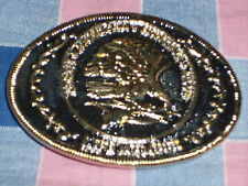 b. Belt Buckle  North American Hunting Club Life Member  Eagle
